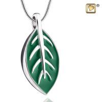 Elegant Leaf®collier met asruimte