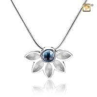 Azure® ashanger met collier en Swarovski® kristal