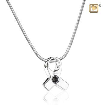 zilveren-ashanger-ribbon-roze-kristal-glanzend-achterzijde-awareness-treasure_lu-pd-1100