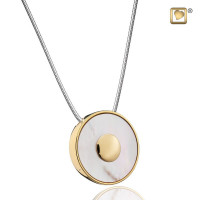 """Mother of Pearl®"" collier met asruimte"