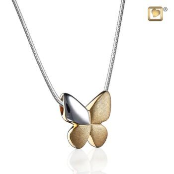 zilveren-geelgoud-vergulde-ashanger-vlinder-mat-glanzend-butterfly-treasure_lu-pd-1160