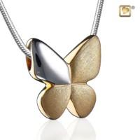 Butterfly®collier met asruimte
