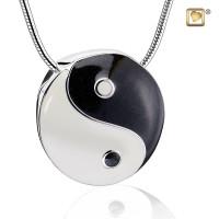 """Yin Yang®"" collier met asruimte"