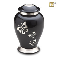 Urn Classic® Butterfly Tribute, antraciet – Groot