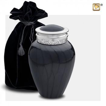 urn-antraciet-zilverkleurig-accent-medium-blessing-black-bag_lu-m-292