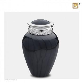 urn-antraciet-zilverkleurig-accent-medium-blessing_lu-m-292