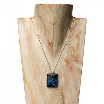 glazen-hanger-peacock-zilveren-oogje-buste-1_dg-peacock_dierbaar-glas_memento-aan-jou