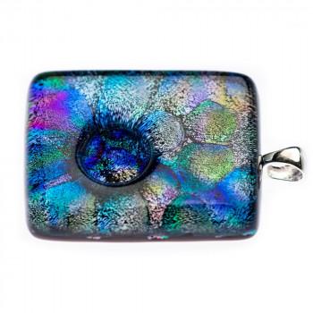 glazen-hanger-peacock-zilveren-oogje-zijaanzicht-1_dg-peacock_dierbaar-glas_memento-aan-jou