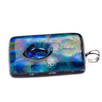 glazen-hanger-peacock-zilveren-oogje-zijaanzicht-2_dg-peacock_dierbaar-glas_memento-aan-jou