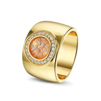 Brede ring, grote ronde open ruimte met accent-RWS007