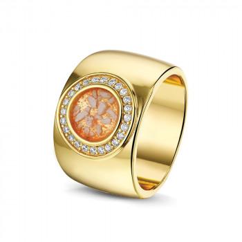 geelgouden-brede-ring-grote-ronde-open-ruimte-zirkonia-rand_sy-ry-007-y_sy-memorial-jewelry_memento-aan-jou