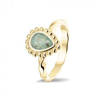 geelgouden-ring-bolletjesrand-druppelvorm-open-ruimte-gedraaide-ring_sy-rg-031-y_sy-memorial-jewelry_memento-aan-jou