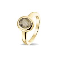 Smalle ring, glad, ovale open ruimte-RG034