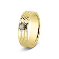 Ring, 6mm, ronde open ruimte, lang lijneffect-224 SY