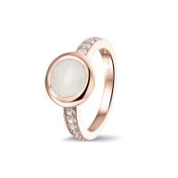 Smalle ring, glad, ronde open ruimte met accent-RG035