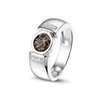 Ring, glad, ronde open ruimte met accent-RG022