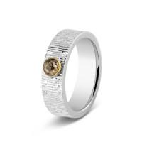 Ring, 6mm, ronde open ruimte, kort lijneffect-221 SY