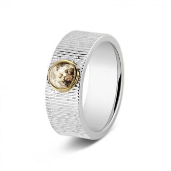 zilveren-ring-ronde-open-ruimte-goud-verticaal-lijn-effect-8mm_222-sy_sy-memorial-jewelry_memento-aan-jou