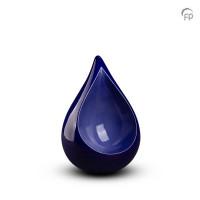 Urn traan donkerblauw-lichtblauw, 2 maten-FPU007