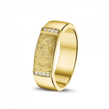 geelgouden-ring-breed-vingerafdruk-rechthoek-zirkonia_sy-ry-004_sy-memorial-jewelry_memento-aan-jou