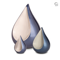 Odyssee urn Teardrop, traan, Lichtblauw-grijs, FPU-103