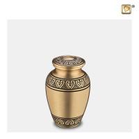 Mini-urn Classic® met hart accent, 2 kleuren