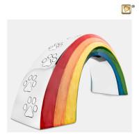 "Dierenurn ""Rainbow Bridge"" verkrijgbaar in 2 maten"