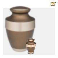 Klassiek metalen urnen Espana, 2 kleuren, 4 varianten