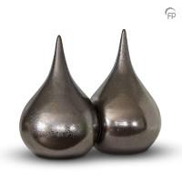 """Keramische duo-urn """"Druppel"""""""