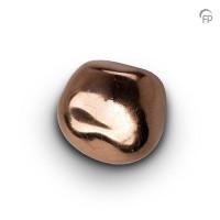 Knuffelkeitjes keramiek brons-goudkleurig