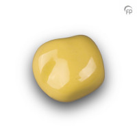 Knuffelkeitjes keramiek glans geel