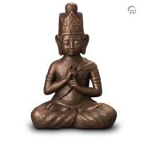 """Keramische urn """"Boeddha Dainichi"""" Geert Kunen"""