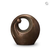 """Keramische urn """"Eenzaam, maar niet alleen"""" Geert Kunen"""
