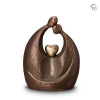 """Keramische urn """"Eeuwige liefde"""" Geert Kunen"""