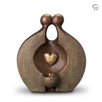 """Keramische duo-urn """"Herinnering"""" Geert Kunen"""
