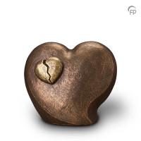"""Keramische urn """"In de liefde ligt pijn"""" Geert Kunen"""