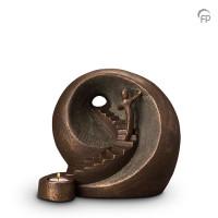 """Keramische urn """"Naar het licht"""" Geert Kunen"""