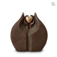 """Keramische urn """"Verborgen liefde"""" Geert Kunen"""