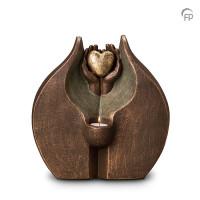"""Keramische duo-urn """"Verborgen liefde"""" Geert Kunen"""