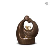 """Keramische urn """"Verlichte troost"""" Geert Kunen"""