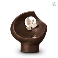 """Keramische urn """"Vlucht in het oneindige"""" Geert Kunen"""