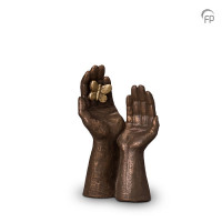 """Keramische mini-urn """"Gedragen"""" Geert Kunen"""