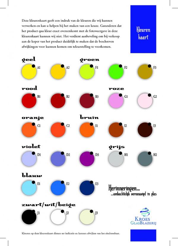 Kleurenkaart-kroes-glasblazerij-glas-relieken-urnen